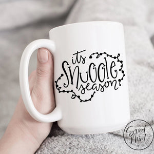Its Snuggle Season Mug - Winter / Holiday Christmas