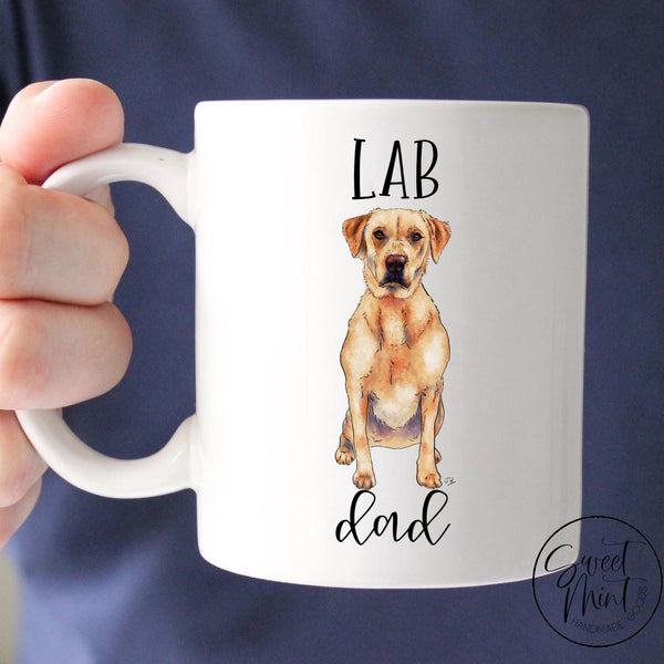 Lab Dad Mug - Labrador Retriever