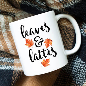 Leaves And Lattes Mug - Autumn / Fall