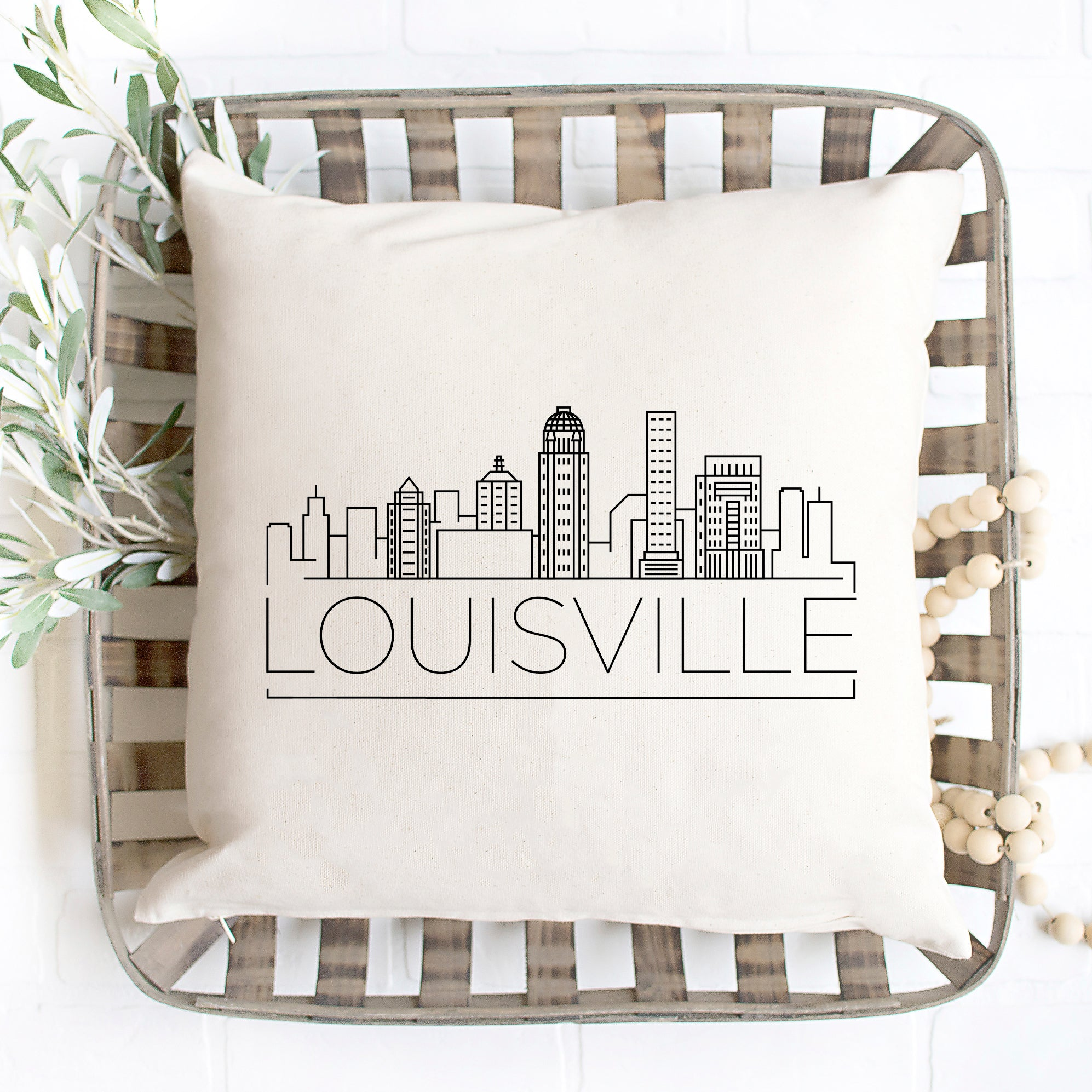 Louisville Skyline Pillow Cover