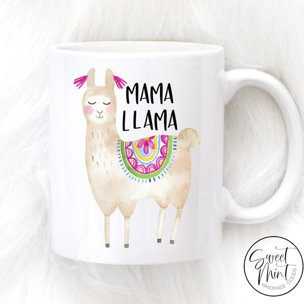 Mama Llama Mug - Gift For Mom