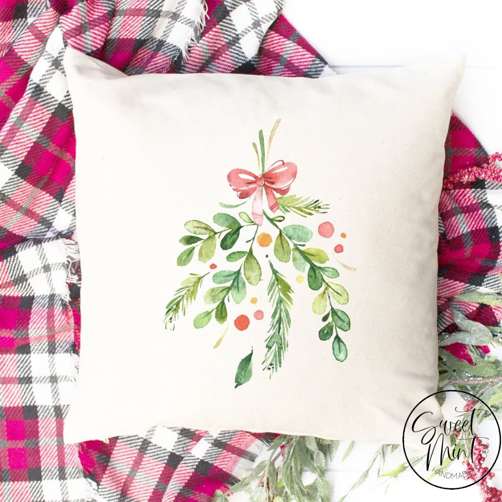 Mistletoe Pillow Cover - 16 X