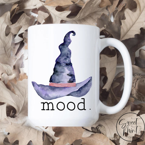 Mood Witch Hat Mug - Funny Fall / Autumn Halloween