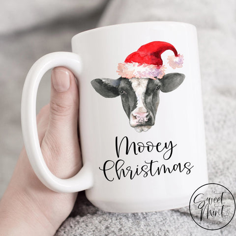 Mooey Christmas Cow Mug