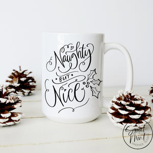Naughty But Nice Christmas Mug