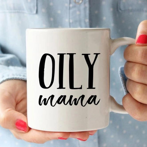 Oily Mama Mug Essential Oil Gift