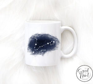 Pisces Zodiac Mug Constellation