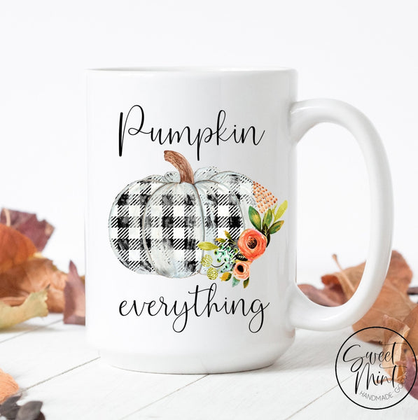 Pumpkin Everything Mug