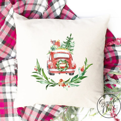 Red Beetle Pillow Cover - 16 X