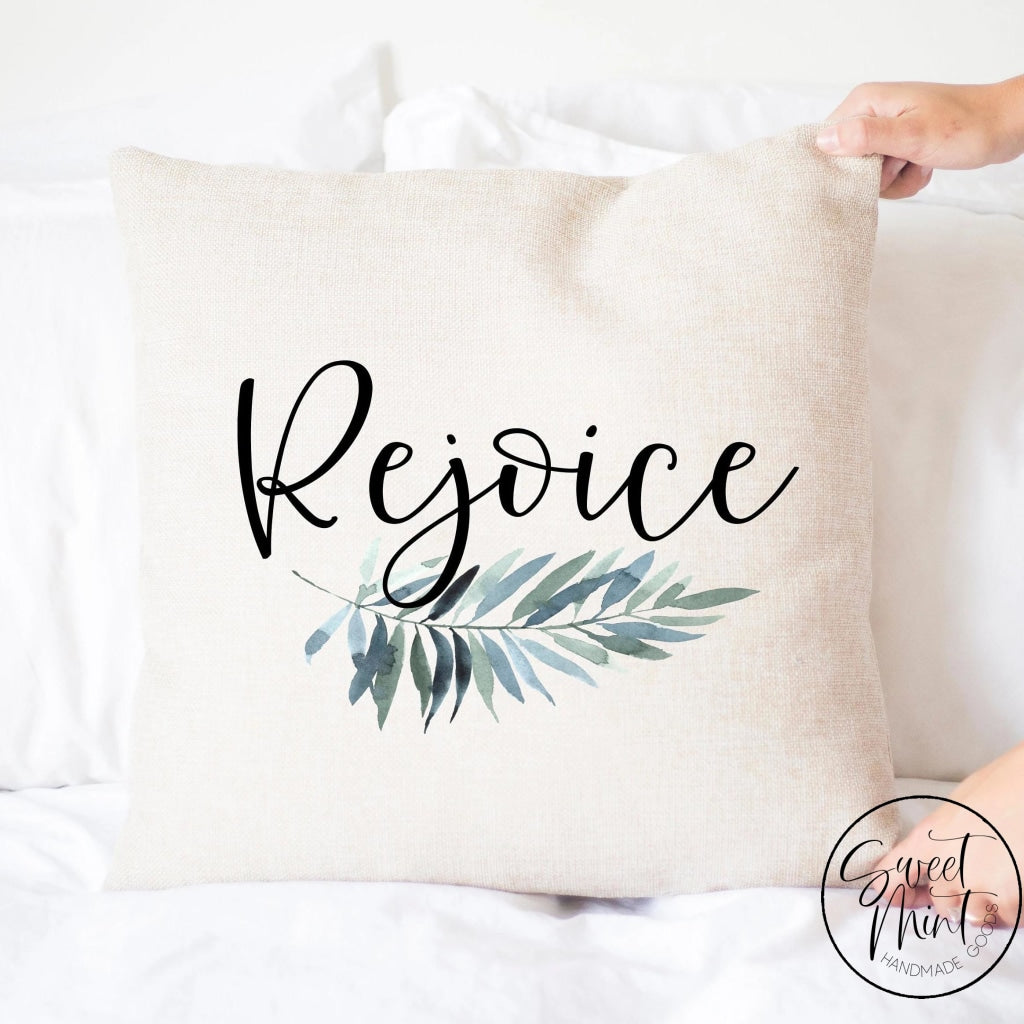 Rejoice Pillow Cover Easter - 16X16
