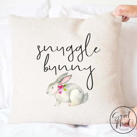 Snuggle Bunny Pillow Cover - Rabbit 16X16