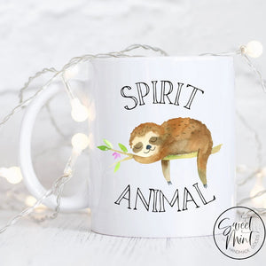 Spirit Animal Sloth Mug