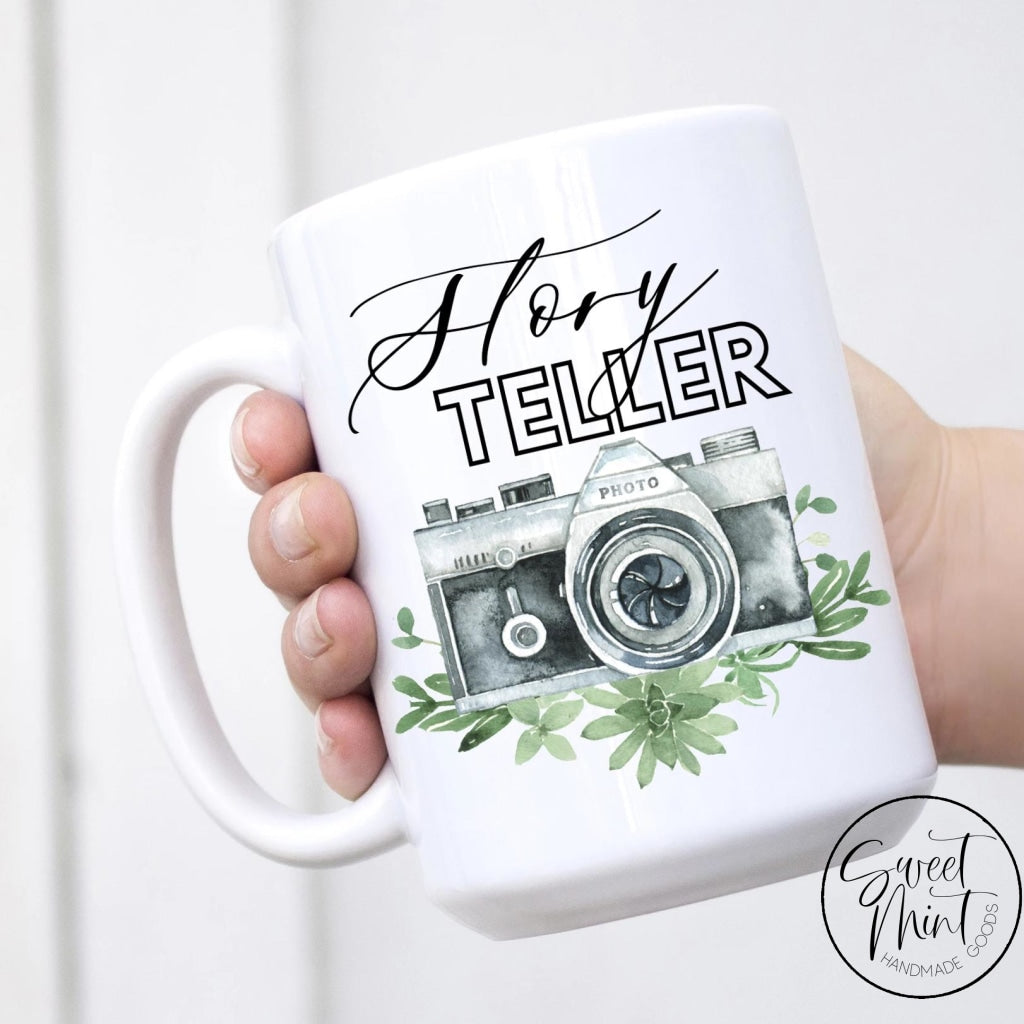 Story Teller Mug - Wedding Photographer Mug
