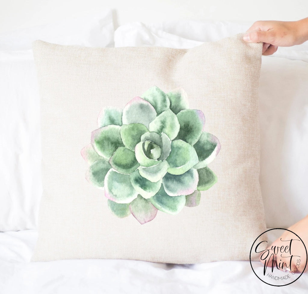 Succulent Pillow Cover - 16X16