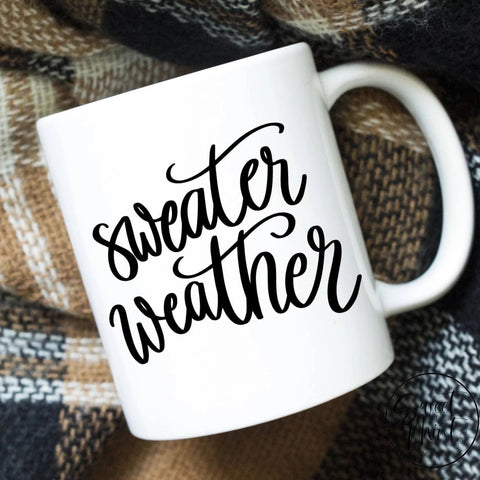 Sweater Weather Mug Fall / Autumn