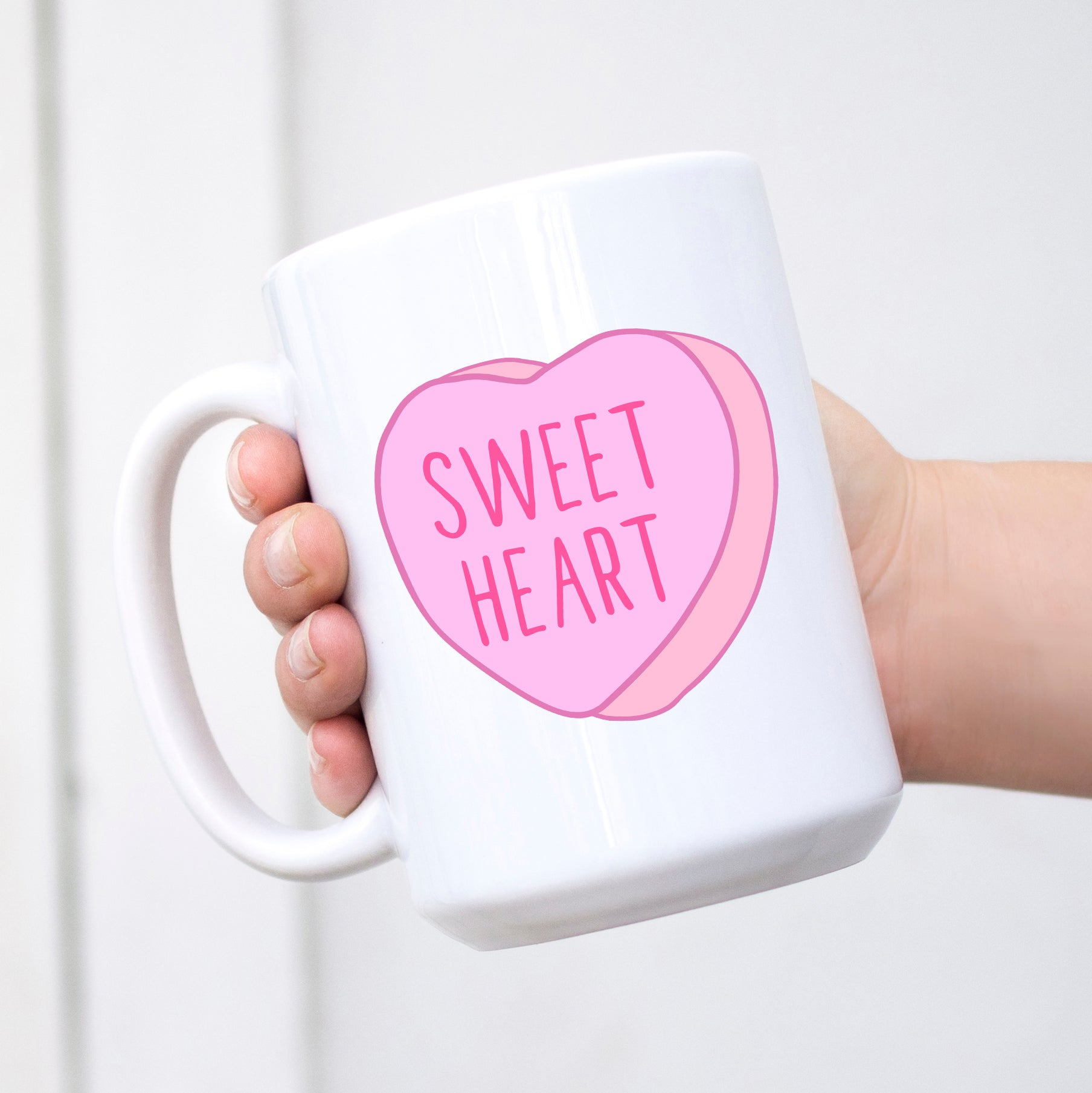 Sweet Heart Conversation Heart Valentine's Day Mug