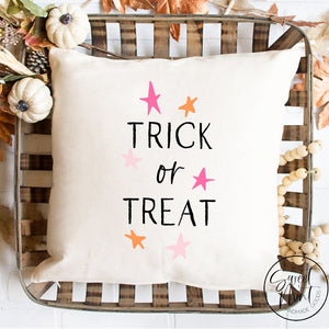 Trick Or Treat Pillow Cover - 16 X