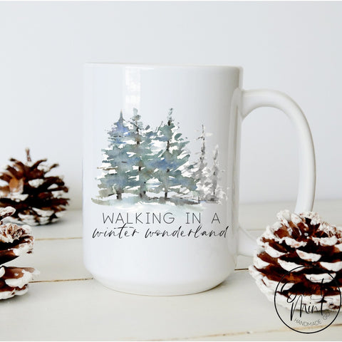 Walking In A Winter Wonderland Mug