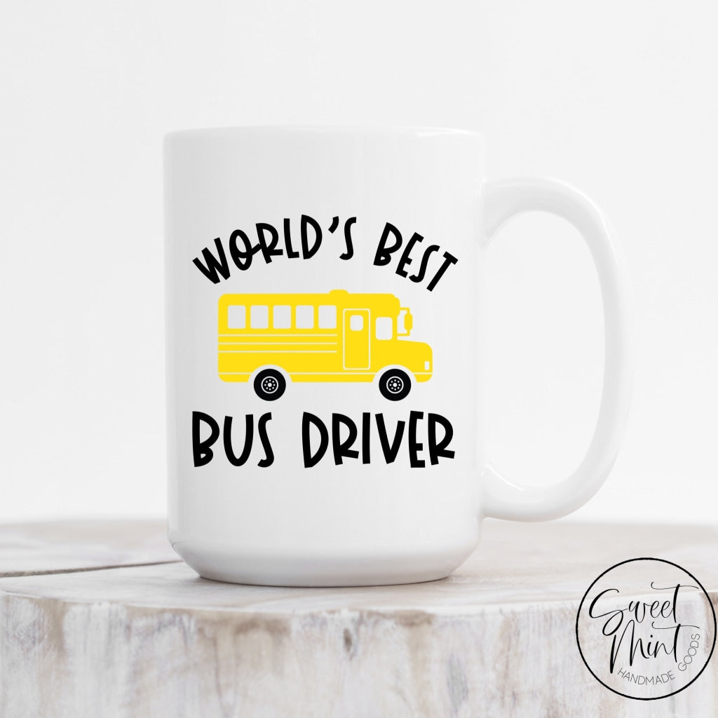 Worlds Best Bus Driver Mug