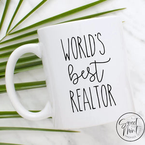Worlds Best Realtor Mug