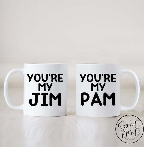Youre My Jim & Pam Mug Set