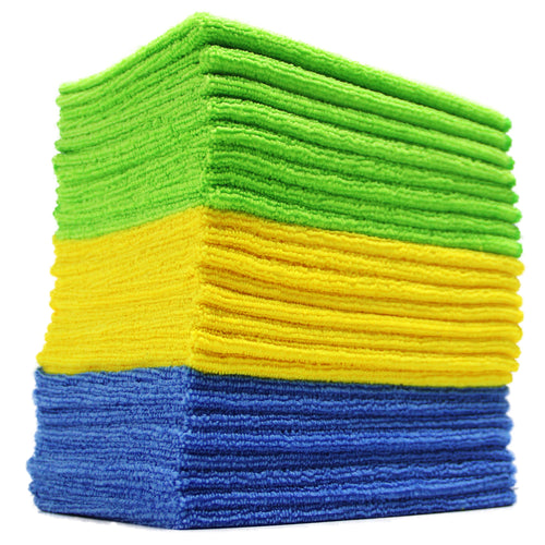 36 Pack Microfiber Cloths 12 in. x 16 in.