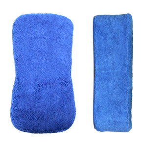 3 Pack Microfiber Sponges 4.5 in. x 9 in. Combo