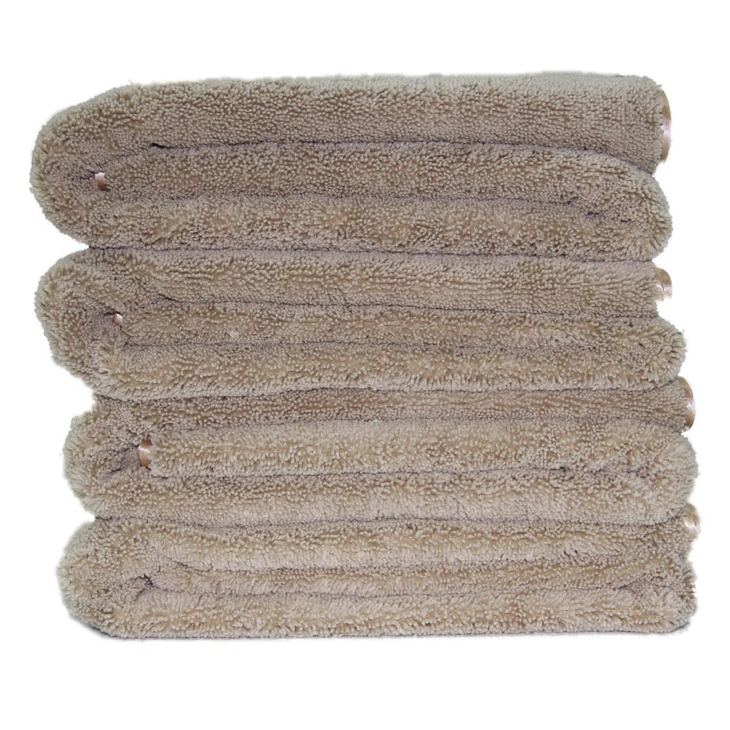 Polyte Premium Quick Dry Microfiber Bath Towel, 57 x 30 in, Set of 4