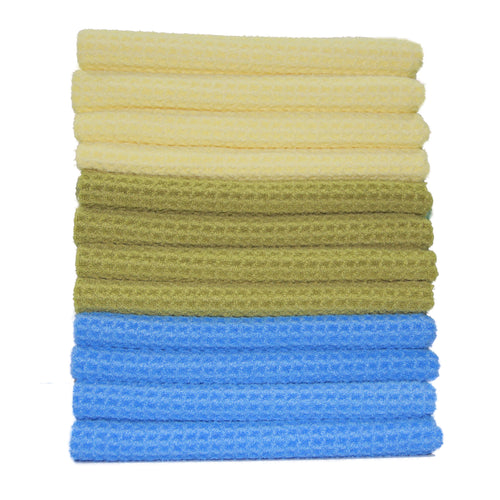 12 Pack Microfiber Kitchen Towels 16 x 28 in.