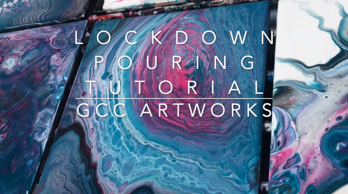 ONLINE PAINT POURING WORKSHOP IS LIVE!!