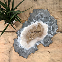Geode-Inspired Resin Table Centre Piece