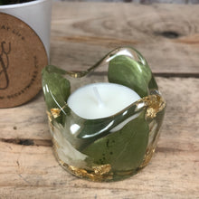 Wedding/ Memorial Flower Infused Tealight Candleholder - MADE TO ORDER
