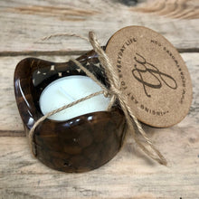 Coffee Bean Infused Tealight Candleholder - MADE TO ORDER