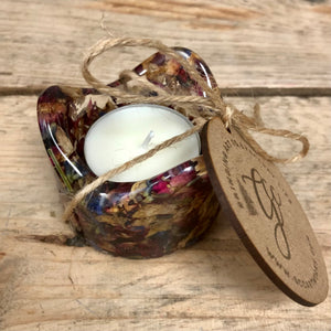 Confetti Infused Tealight Candleholder - MADE TO ORDER