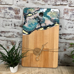 Resin Art Chopping/Serving Board
