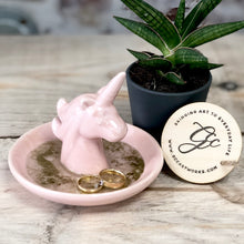 Unicorn Resin Art Trinket Dish