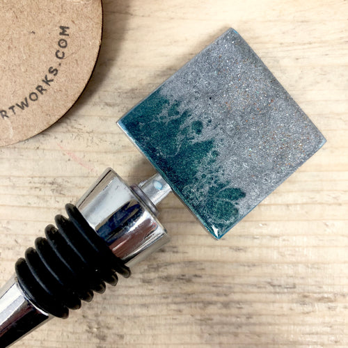 Resin Art Bottle Stopper