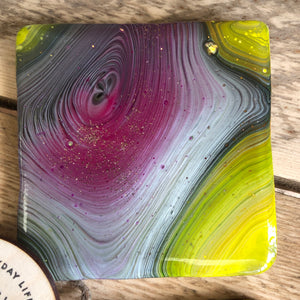ACRYLIC POUR COASTERS WORKSHOP - Exclusive Booking