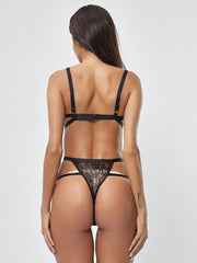 Mesh See-through Sexy Lingerie Thong