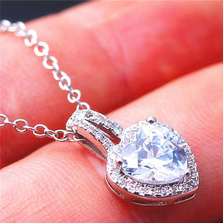 Classic Heart-shaped Jewelry Women's Necklace
