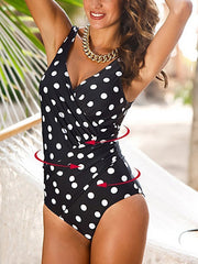 Sexy Plus Size One-piece Swimsuit