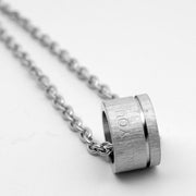 Titanium Steel Pendant Necklace