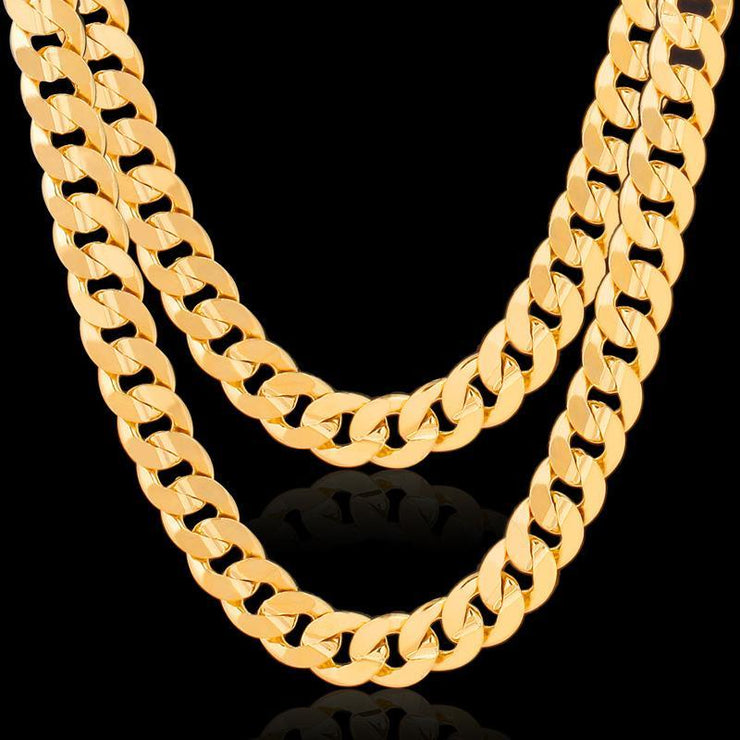 Men's Gold-plated Necklace