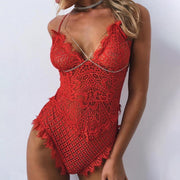 Sexy Lace  Plain Teddy