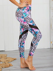 Women's Leopard Print Yoga Set