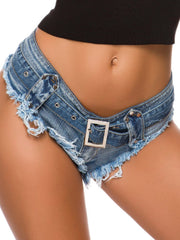New Sexy Ripped Denim Shorts Hot Pants