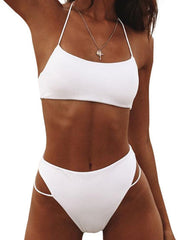 High Waist Bikini Set Swimwea Women Swimsuit