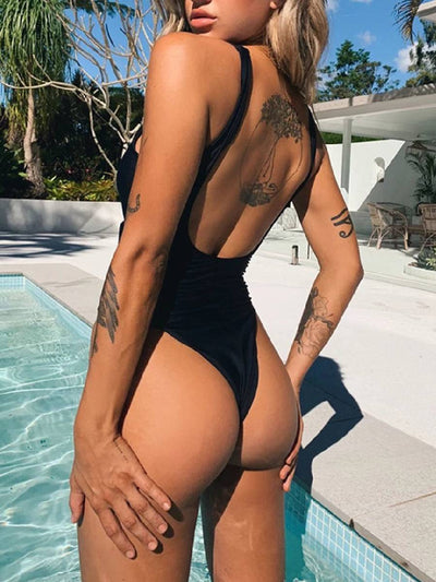 Sexy Backless Lace Up Swimsuits