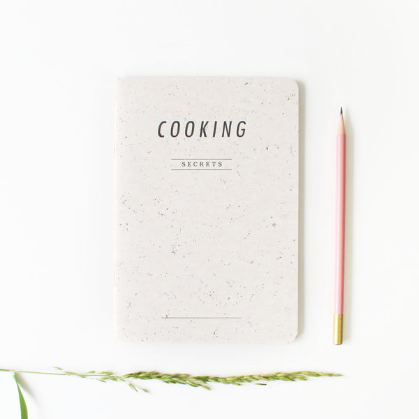 "Cahier ""Cooking Secrets"""