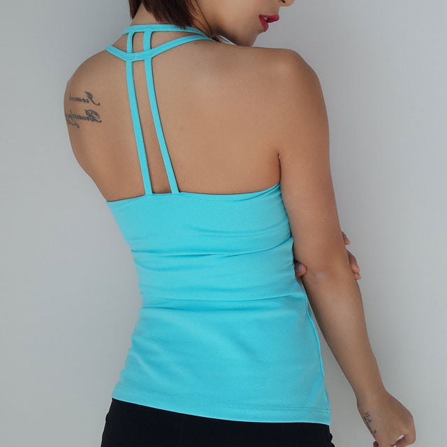64dedcee6d ... Sexy Backless Yoga Tank Top, Women's Yoga Tops, - The Fit Shirt ...